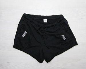 Victoria's Secret Shorts negro-blanco
