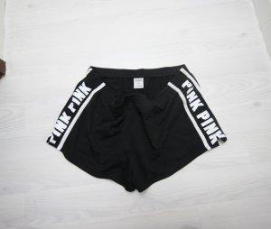 Victoria's Secret Shorts blanco-negro