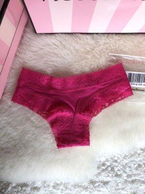 Victoria's Secret Slip Cheeky Höschen Cotton Lace in Größe XS