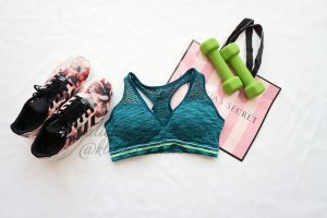Victoria's Secret Sport BH Racerback Pink Mesh