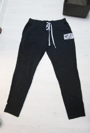 Victoria's Secret Sportbroek wit-zwart