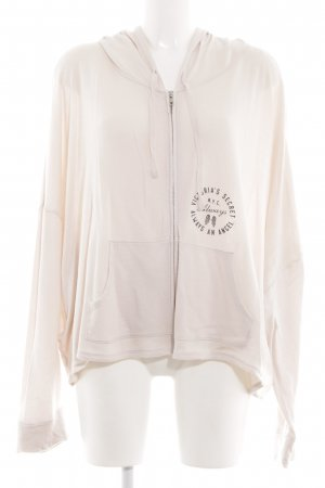 Victoria's Secret Sweat Jacket cream casual look