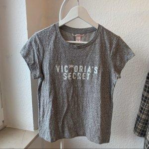 Victoria's Secret T-shirt gris-blanc