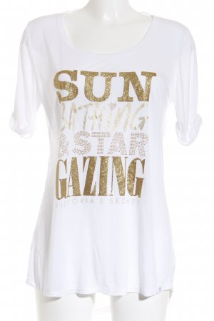 Victoria's Secret T-Shirt weiß Casual-Look