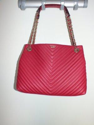Victoria's Secret Tasche Schultertasche rot gold mit Logo