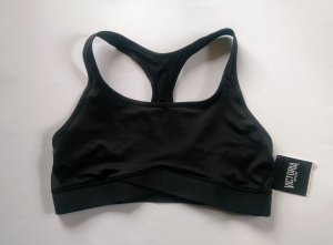 Victoria's Secret The Player Sport-BH mit Netzstoff Gr. XL schwarz