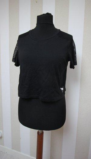 Victoria´s Secret Top Shirt Crop Sommer Gr  L