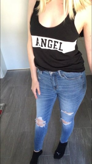 Victoria's Secret Top Shirt mit Logo angel XS wie neu