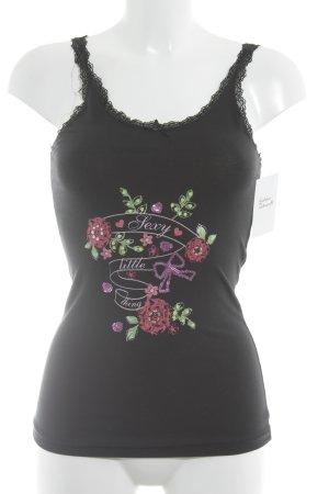 Victoria's Secret Trägertop schwarz Casual-Look