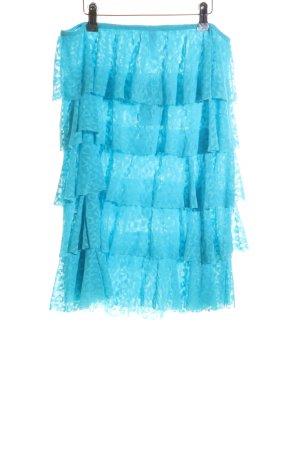 Victoria's Secret Jupe à volants bleu style décontracté