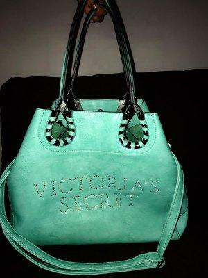 Victoria`s Secret XL Shopper in Farbe Türkis mit Strass besetzt