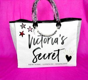 Victoria's Secret Borsa shopper bianco sporco
