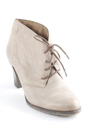 Victoria Schnür-Stiefeletten graubraun-schwarzbraun Casual-Look