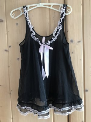 Victoria's Secret Negligee black-light pink