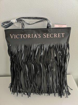 Pink Victoria's Secret Shoulder Bag black