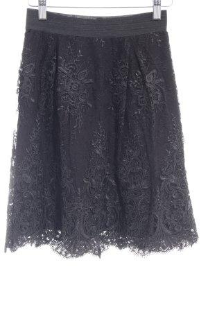 Victoria Jupe en dentelle noir style décontracté