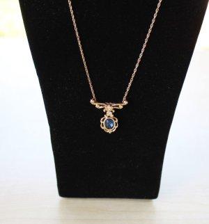 Chain goud-blauw