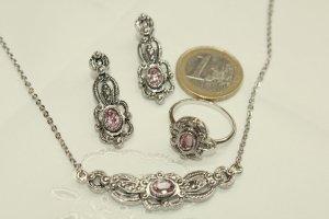 Sieraden zilver-roze