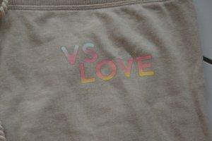 Victoria's Secret Pantalone fitness beige chiaro Cotone