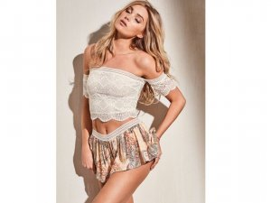 Victoria's Secret Vrijetijdskleding wolwit-abrikoos