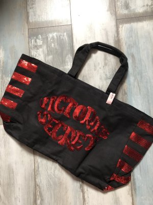Victorias Secret Shopper Weekend Tasche Glitzer
