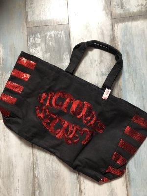 Victoria's Secret Borsa shopper nero-rosso