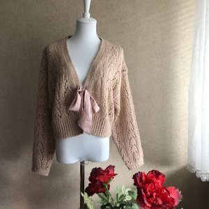 Victoria's Secret Coarse Knitted Jacket multicolored