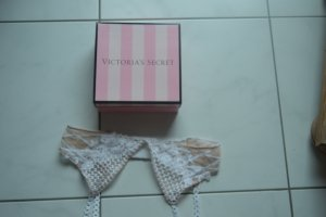 Victoria's Secret Lingerie Set oatmeal-natural white
