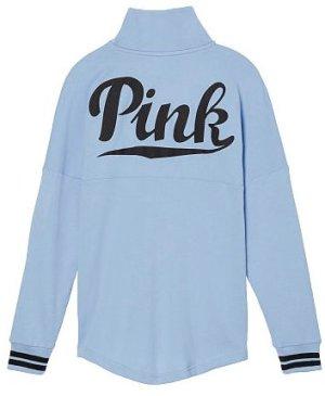 Victorias Secret VS Pink Sweater Pullover hellblau