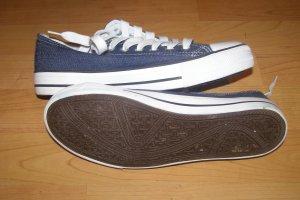 Sneakers met veters veelkleurig Textielvezel