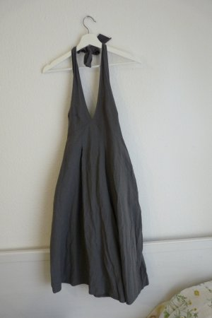 Vicxite A Paris Einteiler Overall S M 38 40 grau Shorts Schulterfrei Rückenfrei Fashion Blogger