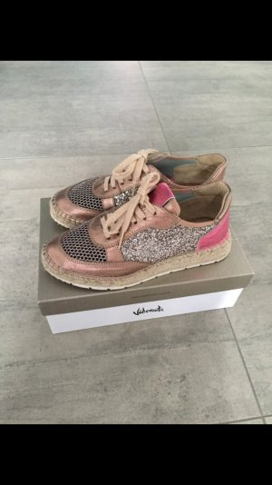 Vidoretta Sneaker rosé, glitzer - Fashion in Gr.39, neuwertig !