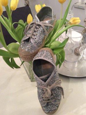 VIDORRETA — Coole Sneakers Glitter in angesagtem Silber