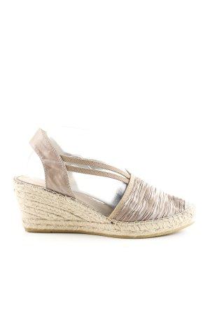Vidorreta Espadrille Sandals brown-cream casual look