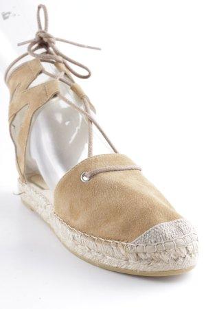 Vidorreta Espadrille sandalen cognac Zigeuner stijl
