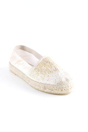 Vidorreta Alpargatas crema-beige claro look Boho