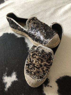 Vidorreta Espandrillos Ballarinas Glitzer Pailletten Schuhe Sandalen Mode Blogger Designer 38