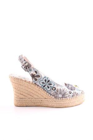 Vidorreta High Heel Sandal allover print casual look