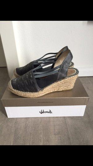 Wedge Sandals slate-gray