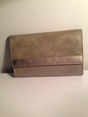 H&M Bolso de mano marrón grisáceo