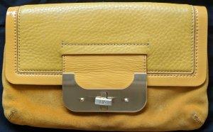 Vielseitige Handtasche & Clutch aus Ledermix