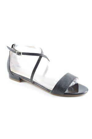 Vienty Riemchen-Sandalen schwarz Elegant