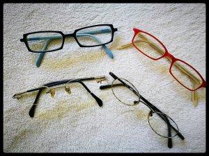 ....vier verschiedene Brillen