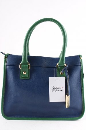 Vigneron Handtasche blau-grün Colourblocking Casual-Look