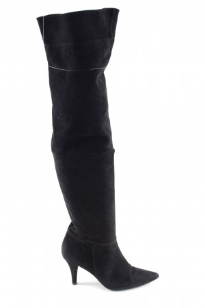 Vigneron Overknees schwarz extravaganter Stil