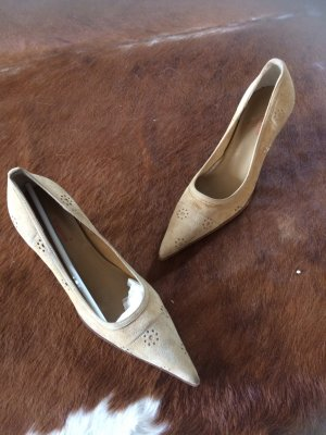 Vigneron Paris, tolle Pumps, Wildleder, Gr 37, neu!