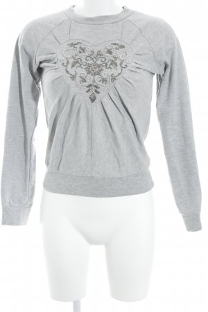 Viktor&Rolf for H&M Sweatshirt hellgrau Casual-Look