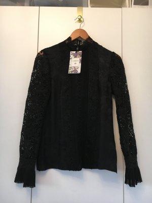 Erdem Zijden blouse zwart