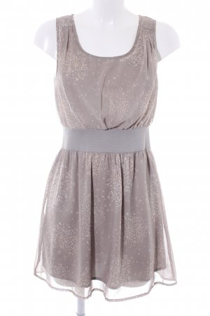Vila A-Linien Kleid abstraktes Muster Casual-Look