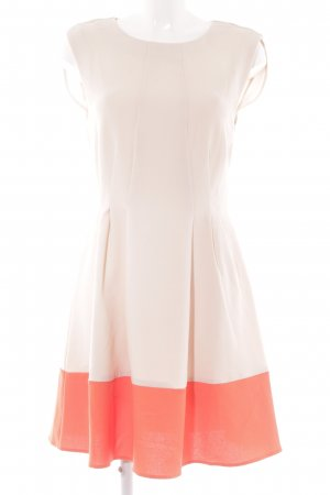 Vila A-Linien Kleid apricot-neonorange Elegant
